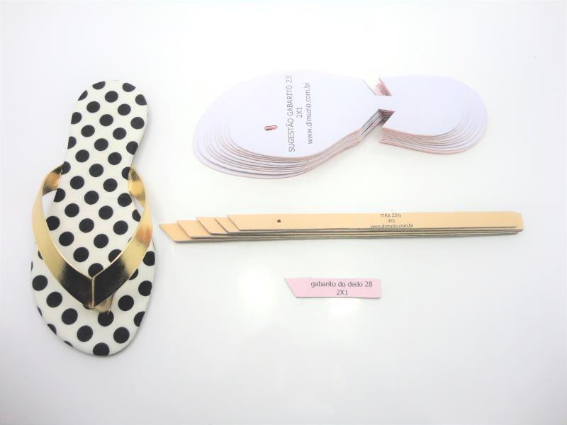 Jogo de escala para rasteirinhas c/ gabarito - Infantil