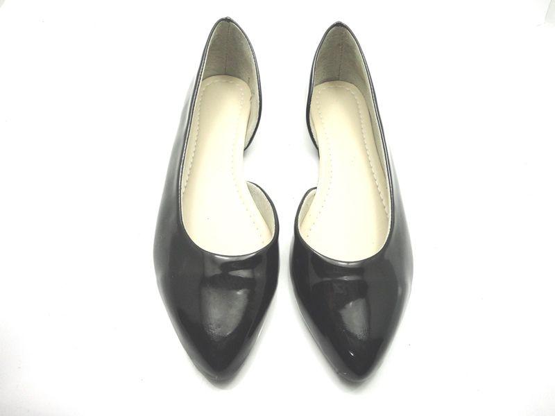 Jogo de escala para sapatilha bico fino lateral aberta