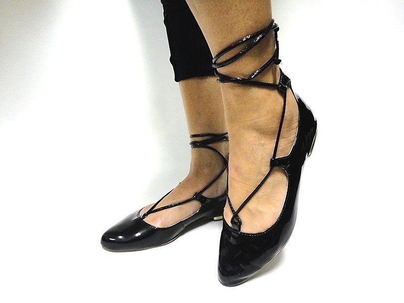 Jogo de escala para sapatilha lace up