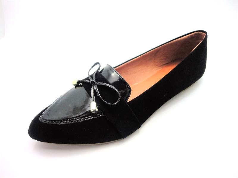 Jogo de escala para sapatilha mocassim
