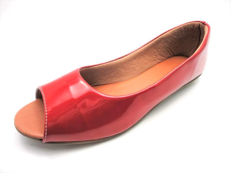Jogo de escala para sapatilha peep toe