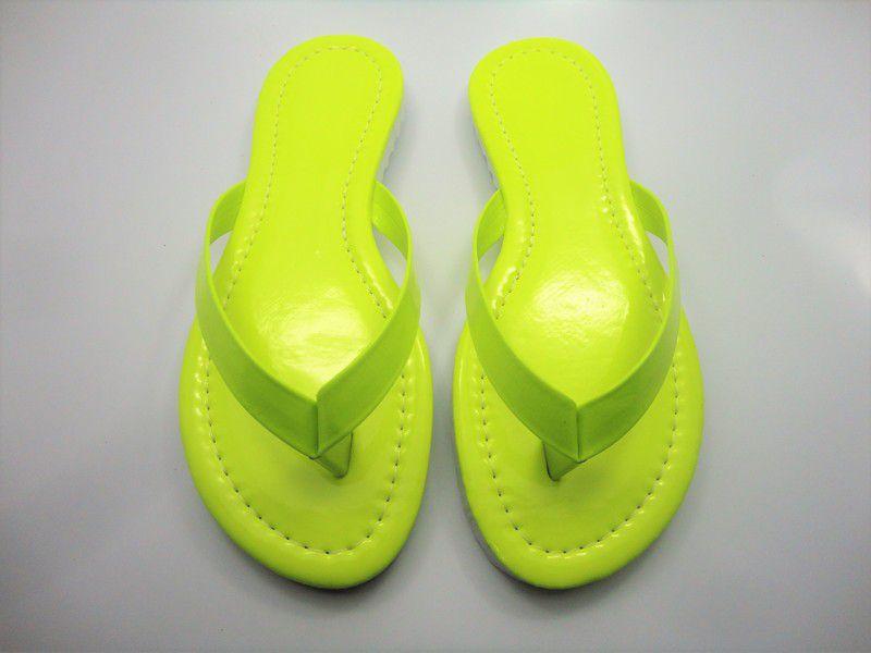 Kit para fabricação de rasteirinhas - 15 mm - Fluorescente Amarela