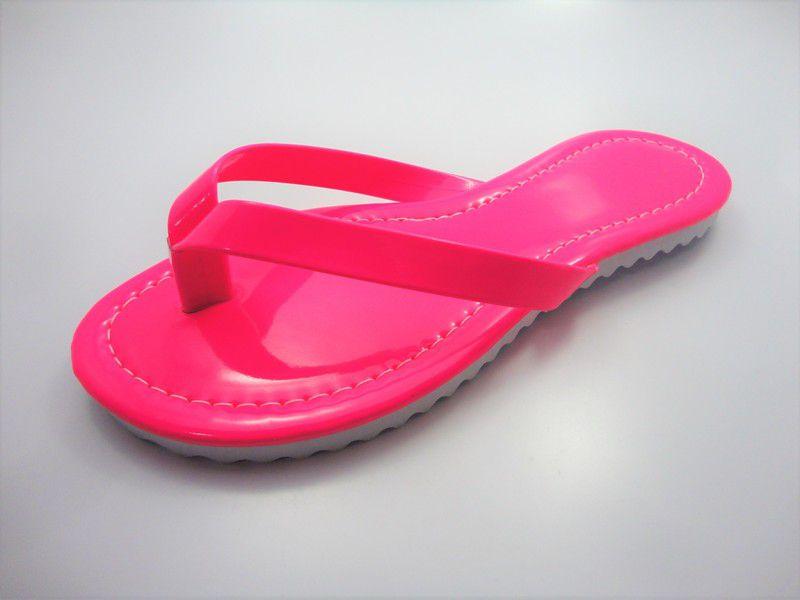 Kit para fabricação de rasteirinhas - 15 mm - Fluorescente Pink