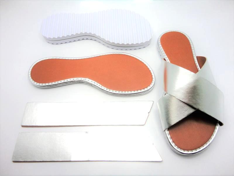Kit para fabricação de rasteirinhas - X Prata