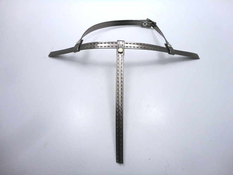 Kit para fabricação de rasteirinhas - Cabedal Tiras 8 mm - Ônix