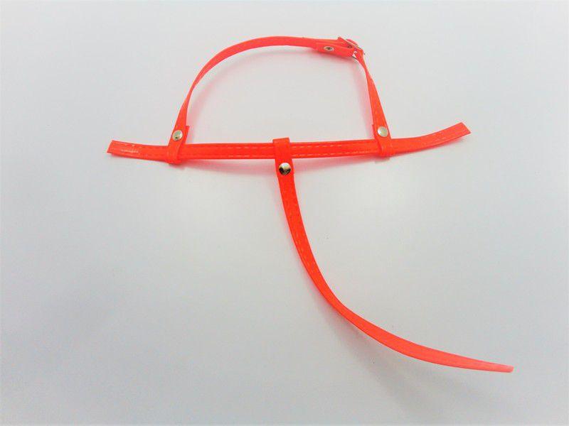 Kit para fabricação de rasteirinhas - Cabedal Tiras 9 mm - Fluorescente Laranja