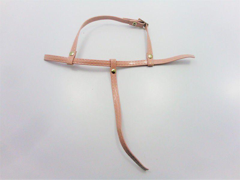 Kit para fabricação de rasteirinhas - Cabedal Tiras 9 mm - Verniz Nude