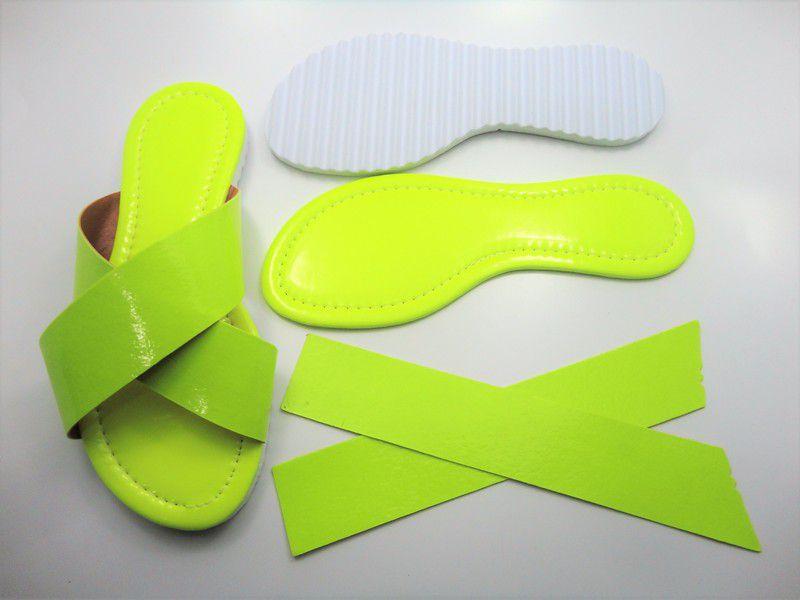 1eafcb27e1 Kit para fabricação de rasteirinhas - X Fluorescente Amarelo - Di ...