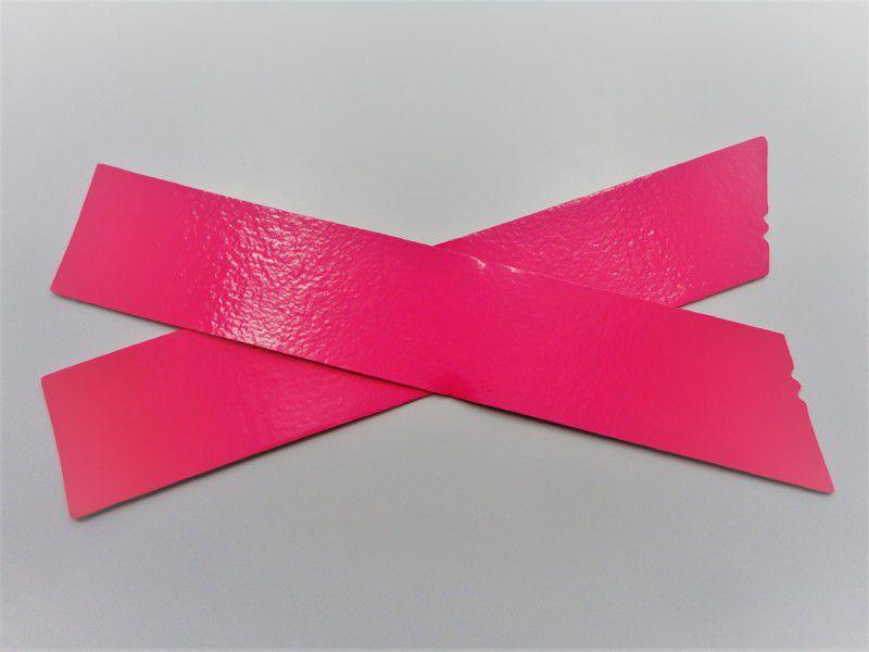 Kit para fabricação de rasteirinhas - X Fluorescente Pink