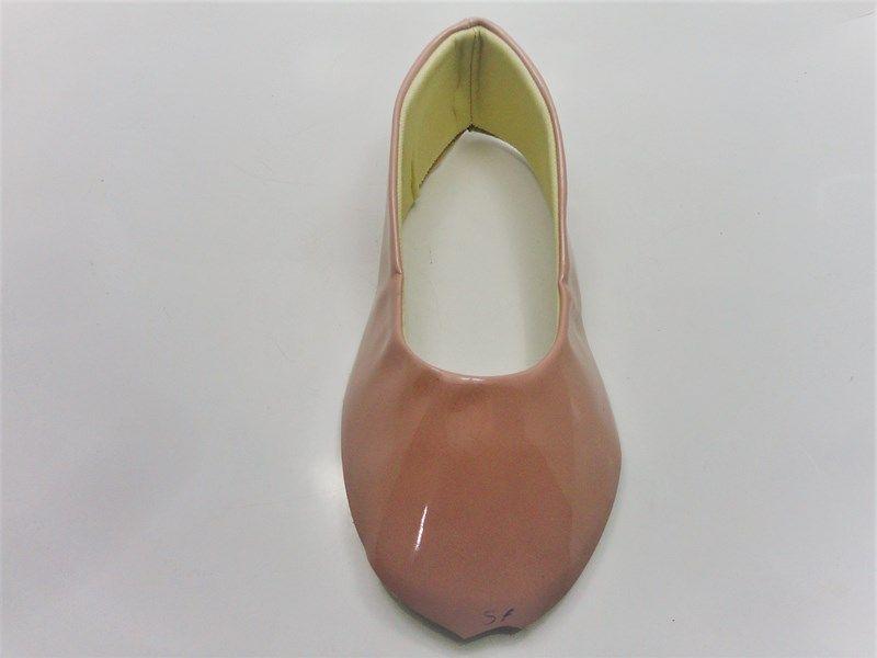 Kit para fabricação de sapatilhas bico fino - Verniz Nude