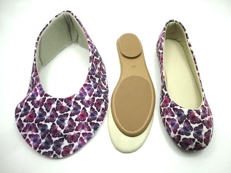 Kit para fabricação de sapatilhas infantis - Ref. 05