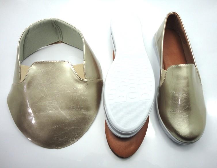 Kit para fabricação de tênis - Verniz ouro