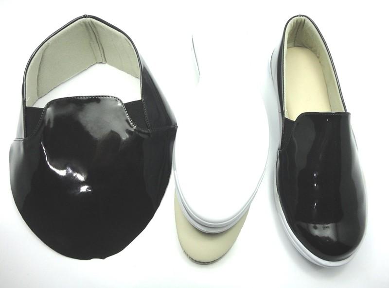 Kit para fabricação de tênis - Verniz preto
