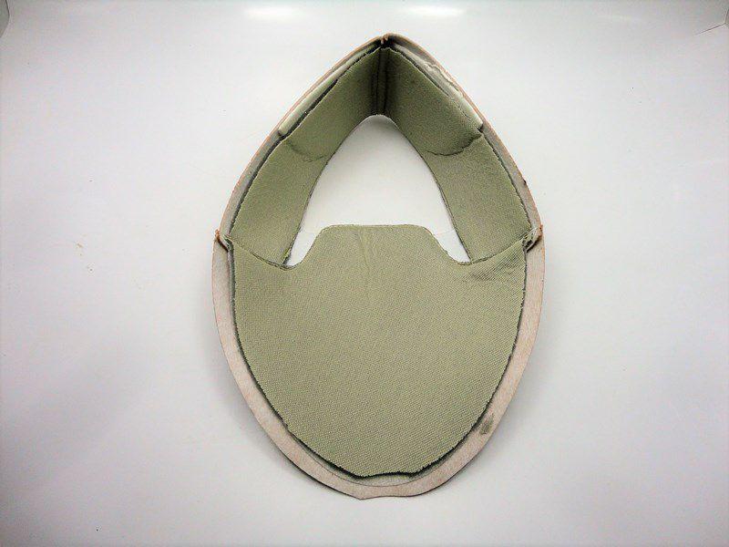 Kit para fabricação de tênis - Napa furo Bege