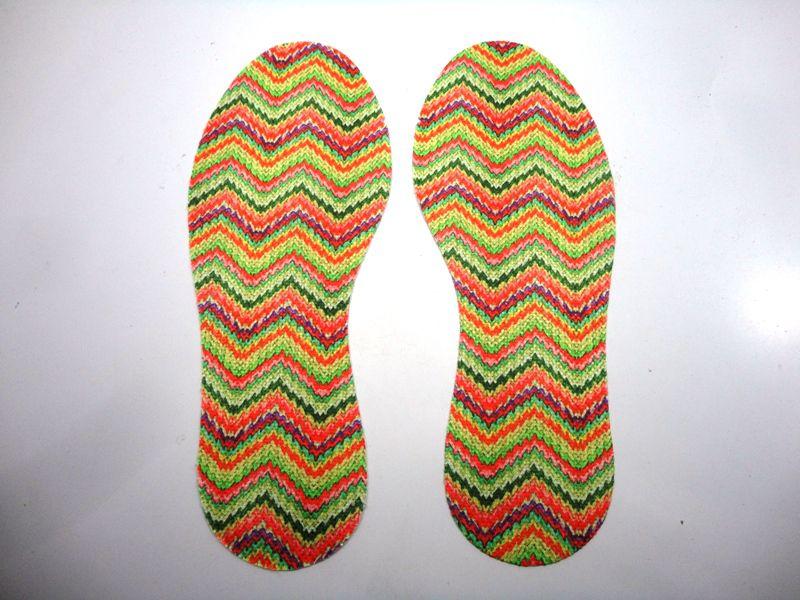 Kit Solado e Palmilha para Crochê - Grade 15 pares