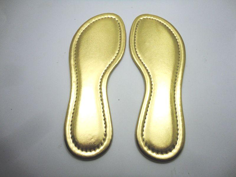 Palmilha c/ Espuma Ouro Costurada