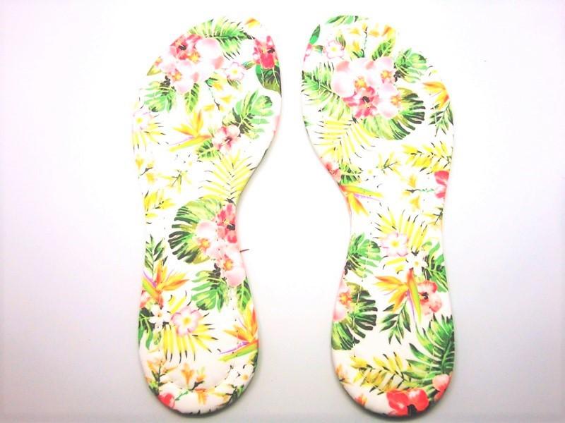 Palmilha c/ EVA Flores Costurada