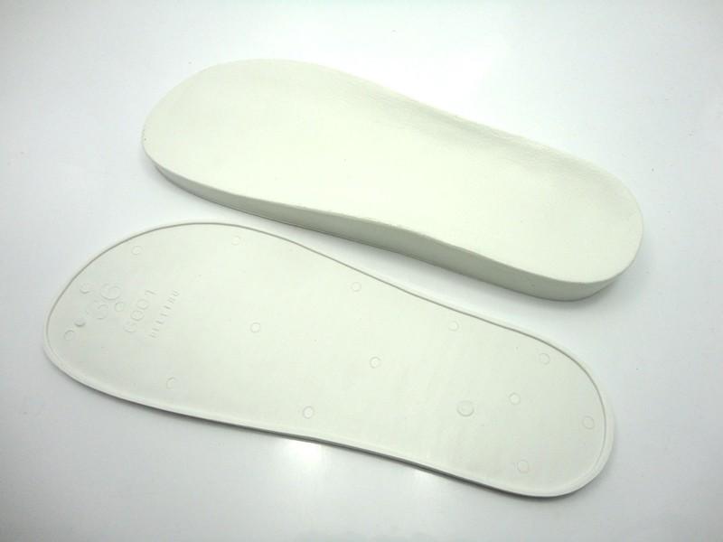 Solado Birken com palmilha - PVC Branco