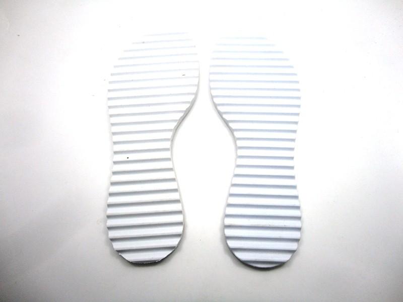 Solado Rasteirinha Tratorado 10 mm + Palmilha Tie Dye c/taloneira - Grade 15 pares