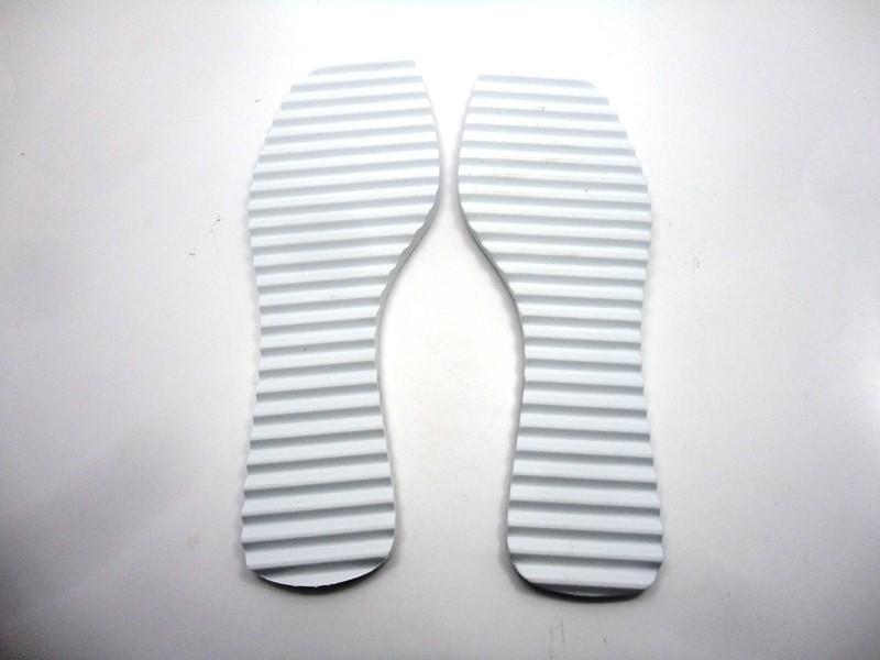 Solado Rasteirinha Tratorado 10 mm + Palmilha Tie Dye  - Grade 15 pares
