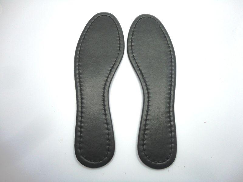 Solado Sapatilha PVC Preta Ref. 110 + Palmilha Costurada Preta - Grade 15 pares