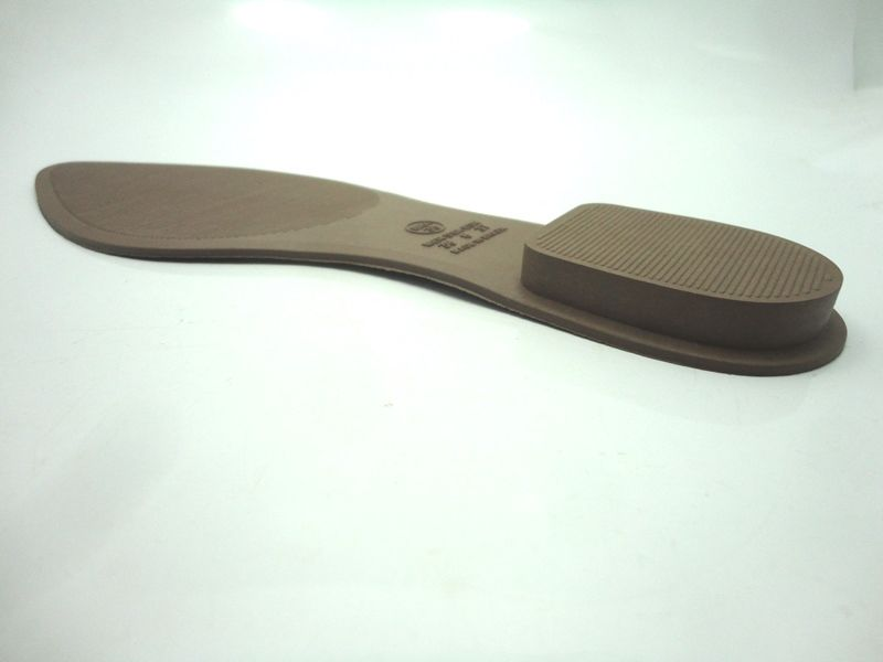 Solado Sapatilha PVC Bege Ref. 2014 + Palmilha dublada com forro sintético - Grade 15 pares