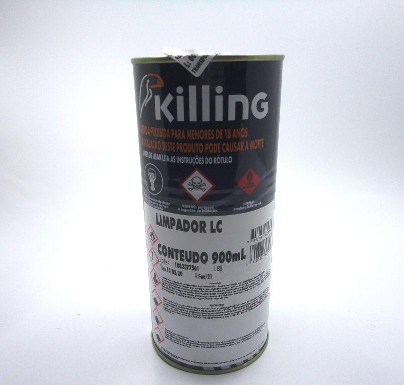 Solvente Fraco Killing - 1 litro