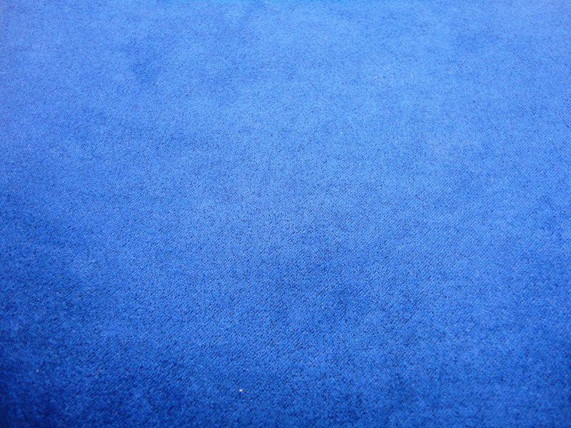 Tecido Cabedal  Suede Azul