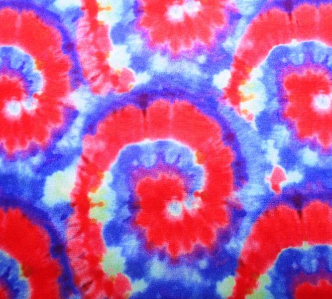 Tecido Cabedal - Tie Dye Ref. 05