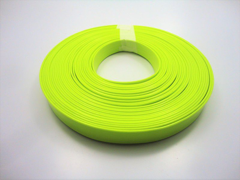 Tiras 15 mm Fluorescente Amarela - Rolo 10 metros