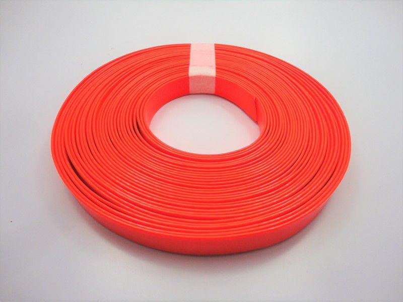 Tiras 15 mm Fluorescente Laranja - Rolo 10 metros