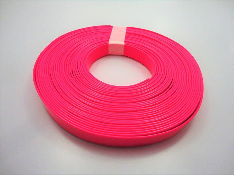 Tiras 15 mm Fluorescente Pink - Rolo 10 metros