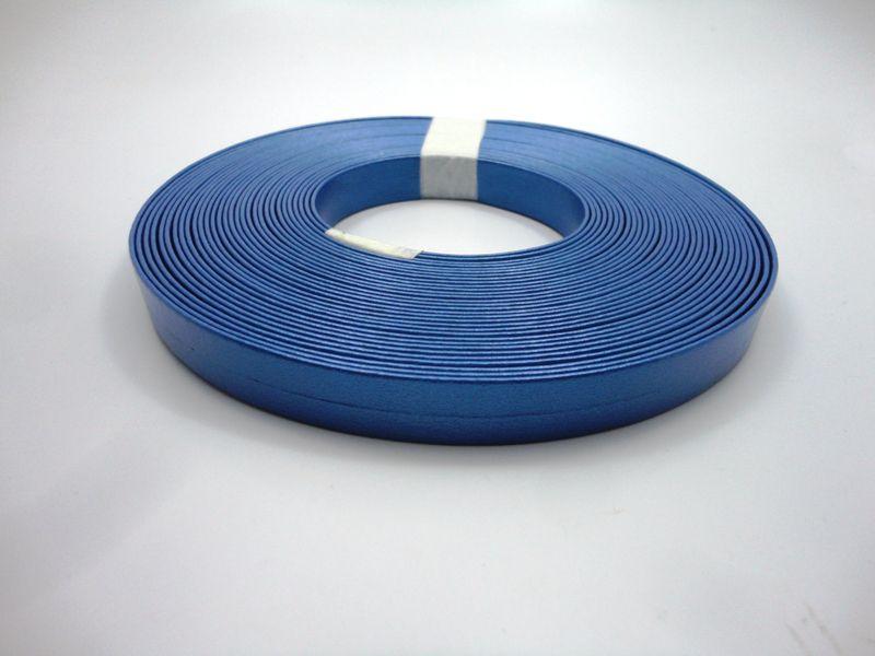 Tiras 15 mm Metalizado Azul - Rolo 10 metros