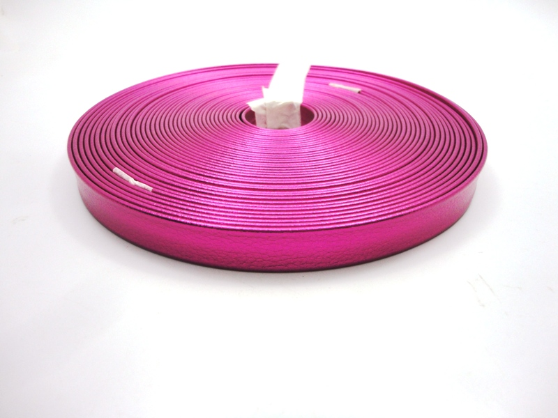 Tiras 15 mm Metalizado Pink - Rolo 10 metros