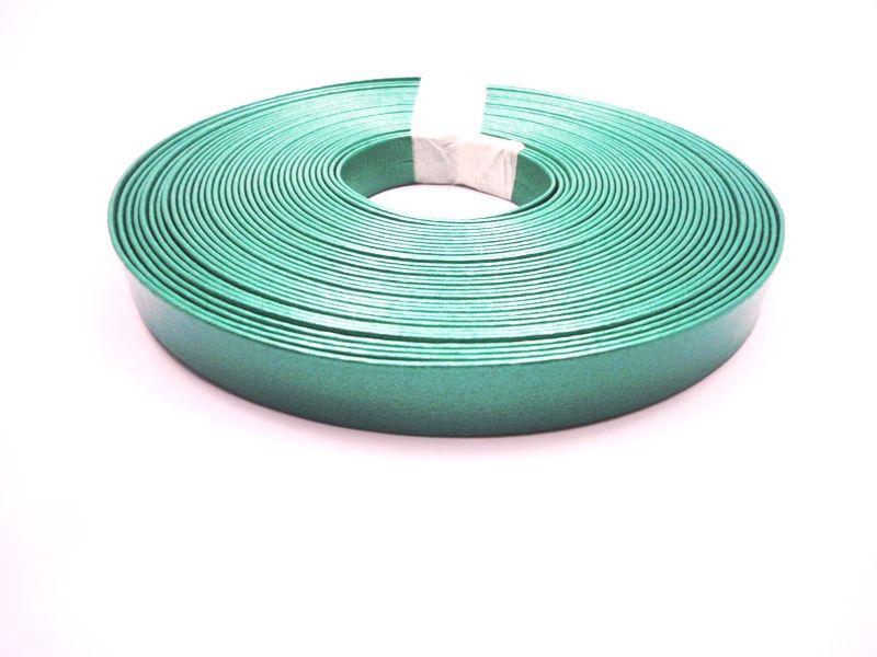 Tiras 15 mm Metalizado Verde - Rolo 10 metros