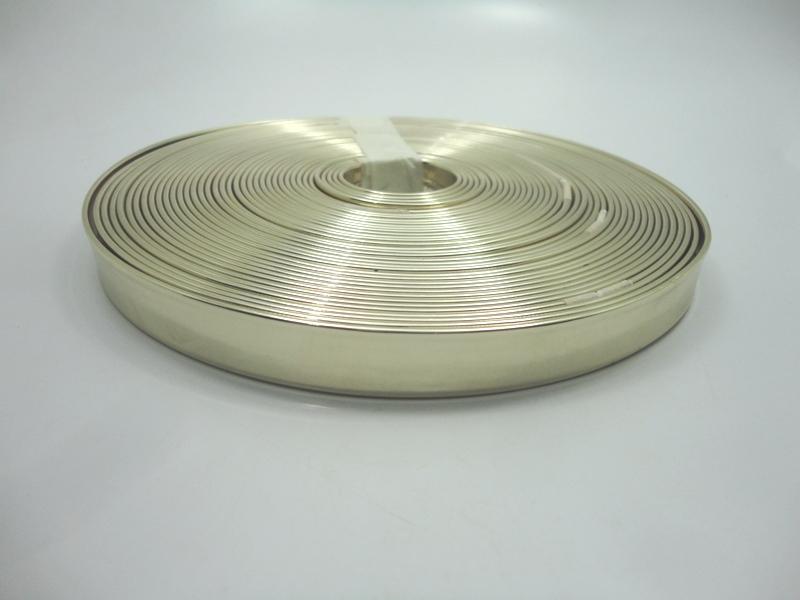 Tiras 15 mm Ouro Light Espelhado  - Rolo 10 metros