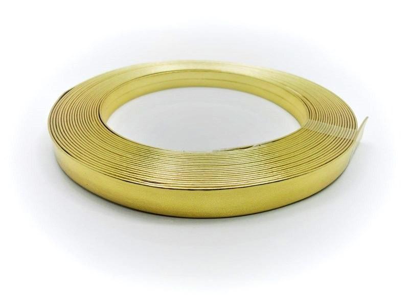 Tiras 15 mm Ouro - Rolo 10 metros