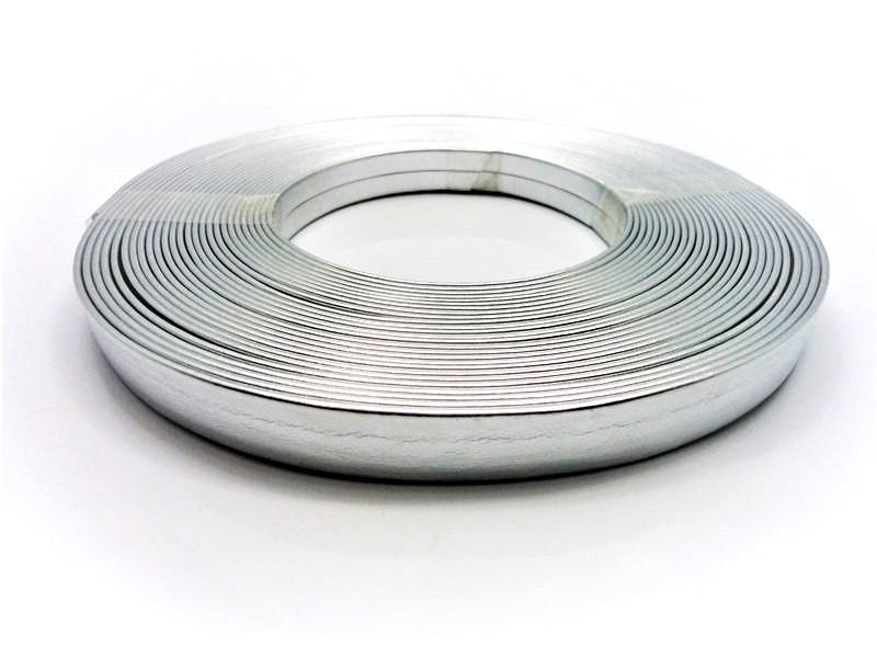 Tiras 15 mm Prata - Rolo 10 metros