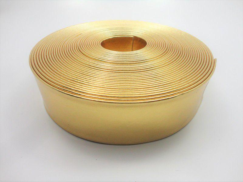 Tiras 40 mm Ouro - Rolo 10 metros