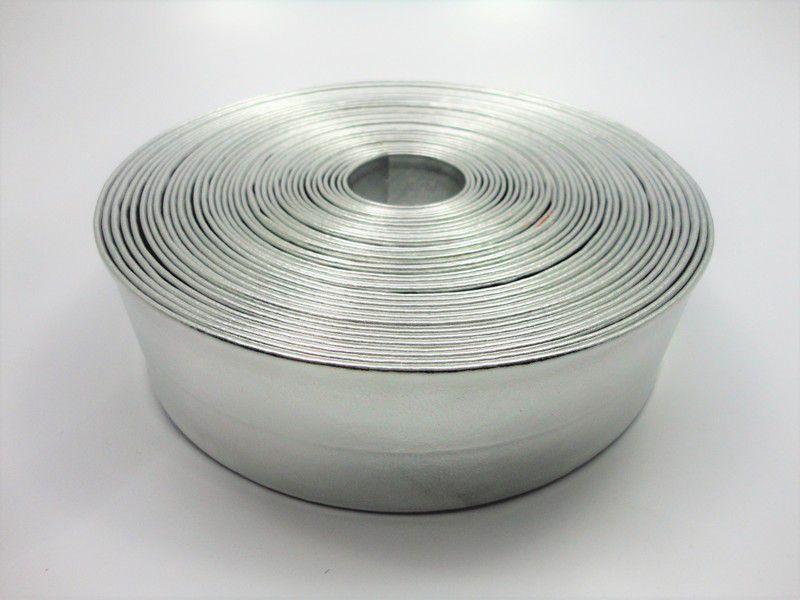 Tiras 40 mm Prata - Rolo 10 metros