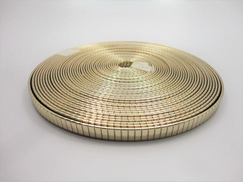 Tiras 8 mm Ouro Marcado - Rolo 10 metros
