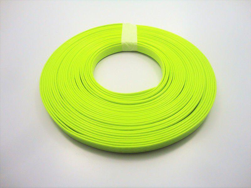 Tiras 9 mm Fluorescente Amarela - Rolo 10 metros