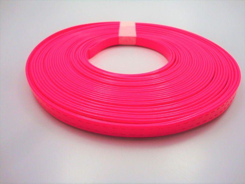 Tiras 9 mm Fluorescente Pink - Rolo 10 metros
