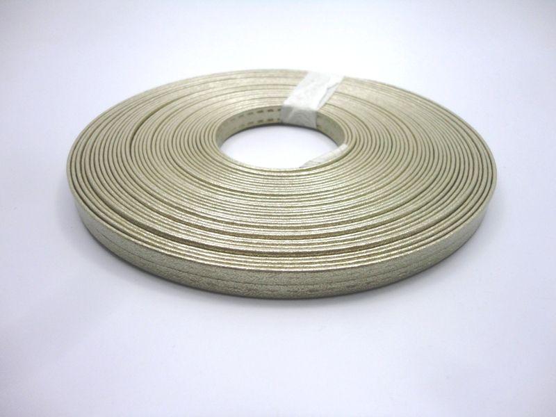 Tiras 9 mm Metalizado Dourado - Rolo 10 metros