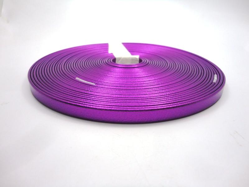 Tiras 9 mm Metalizado Roxo - Rolo 10 metros