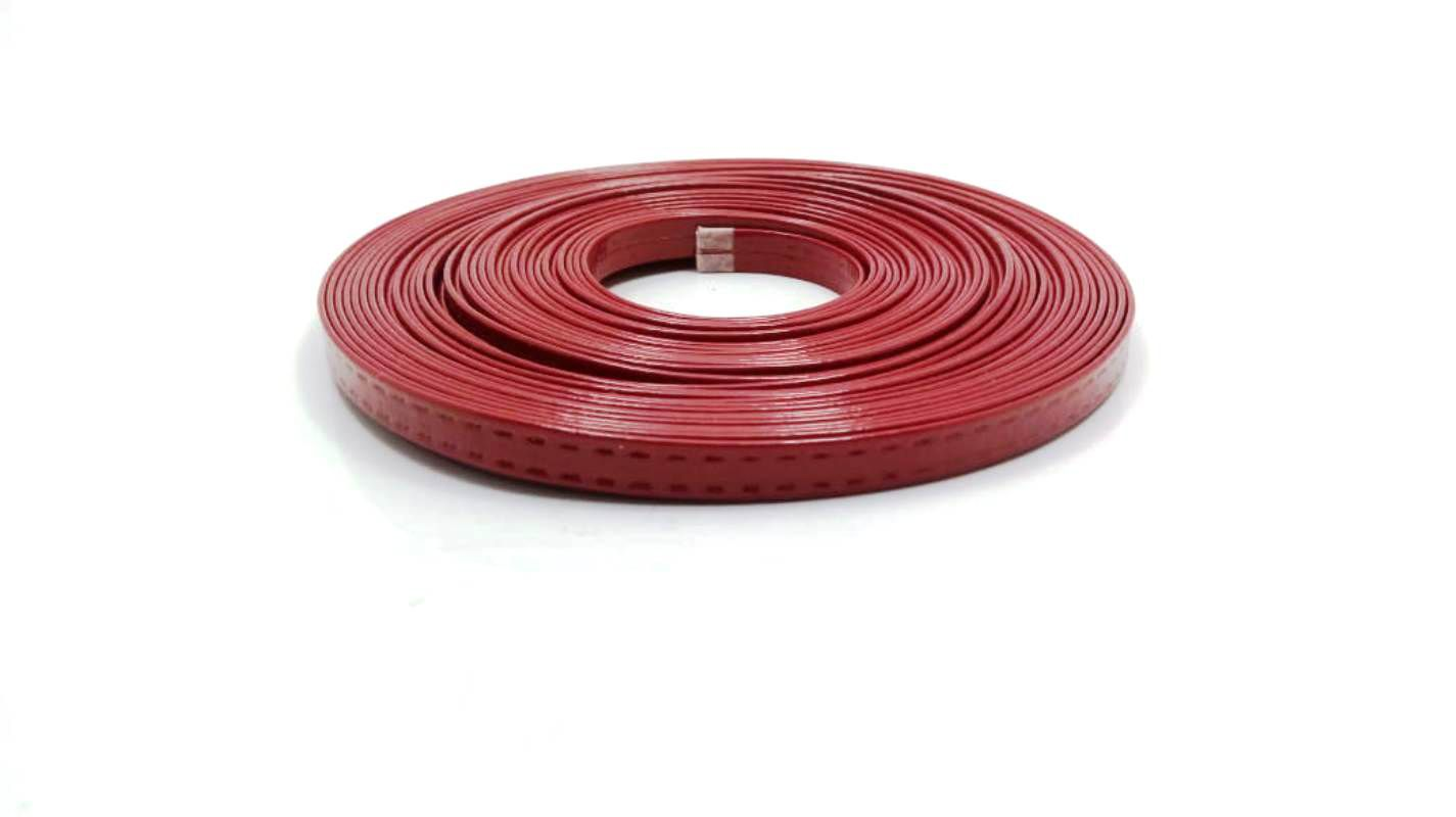 Tiras 9 mm Vermelho - Rolo 10 metros