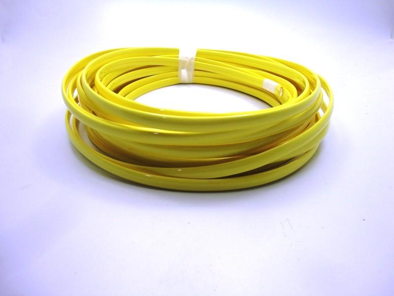 Tiras Boleadas 8 mm - Amarelo Verniz