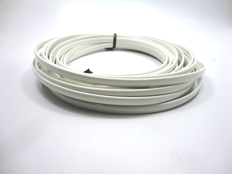 Tiras Boleadas 8 mm - Branco Verniz
