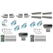 Kits de calhas de beiral para telhado