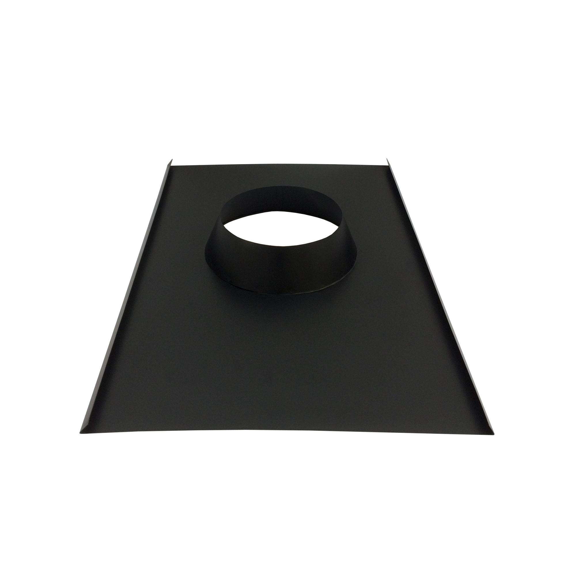 Chamine de 150 mm preto com chapéu chinês para churrasqueira  - Galvocalhas